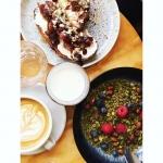 Petit dej' sucré//salé de chez @obladicafe Recettes et articles sur mon site internet : lgiami-dieteticienne.fr